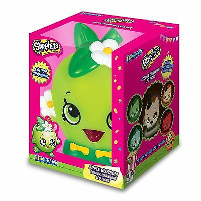 Shopkins Apple Blossom Colour Changing Light Illumi-Mate 100% Official New Kids