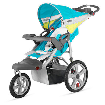InSTEP GRAND SAFARI SINGLE BABY JOGGING STROLLER AR192