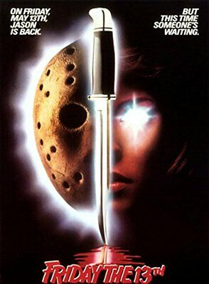 Friday the 13th Part VII 7 JASON RETURNS - Someone is Waiting - POSTER ~ 24x36