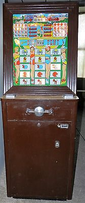 Keeney's Vintage Big Tent Slot Machine~Nice 1957-62 Working Slot Machine