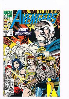 Avengers # 357 The Night Visitors ! grade - 9.0 scarce book !!