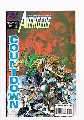 Avengers # 365 For an Empre Lost ! grade - 7.5 scarce book !!