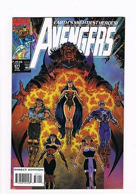 Avengers # 371 Godlings and Gladiators ! grade - 8.0 scarce book !!