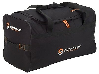 "New Scent-Lok ScenTote Travel Duffle Bag 25""x14""x13"" Black w/ Carbon Absorber"