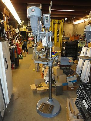 Rockwell Offset Drill Press Floor Stand Adjustable Speed & Work Deck