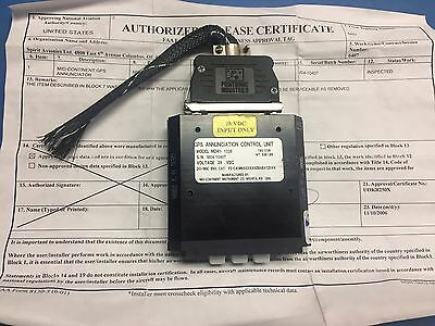Mid-Continent MD41-1328 GPS Annunciation Control Unit 28VDC W/8130 w Connector