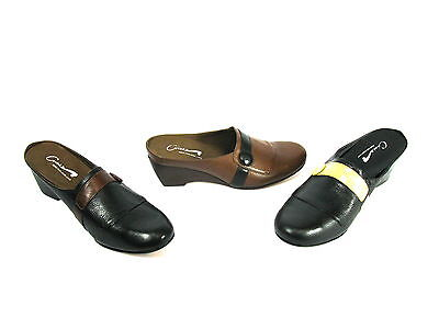 "Wholesale Lot 43 pairs, Cvine Leather Women's  Slip On Mule Shoe Style ""Desiree"""