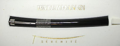 Waterman Serenite Roller Ball Pen Black #41010 New Old Stock Complete Packaging