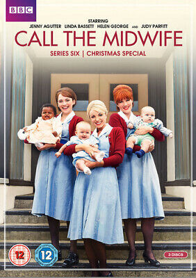 Call the Midwife: Series 6 DVD (2017) Jenny Agutter ***NEW***