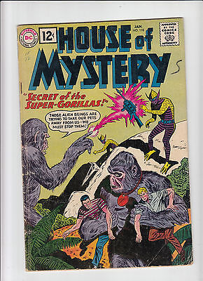 House of Mystery #118 g/vg DC 1962