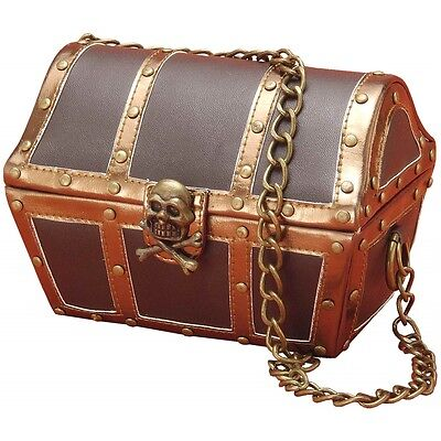 Pirate Chest Handbag/Purse Costume Accessory Adult Halloween