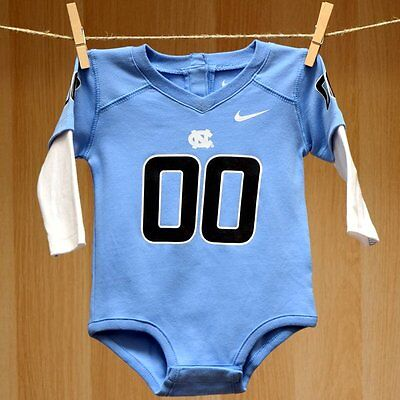 North Carolina Tar Heels Baby Infant Creeper Jersey (FREE SHIPPING) 3-6 months