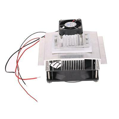 DIY Thermoelectric Peltier Plate Module Cooling System Kit With Cooler Fan 60W