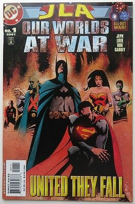 2001  Jla Our Worlds At War #1    -  Vf                    (Inv11387)