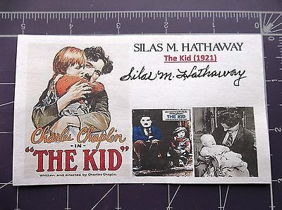 """""""The Kid"""" (1921) Silas M. Hathaway Autographed 3x5 Index Card"""