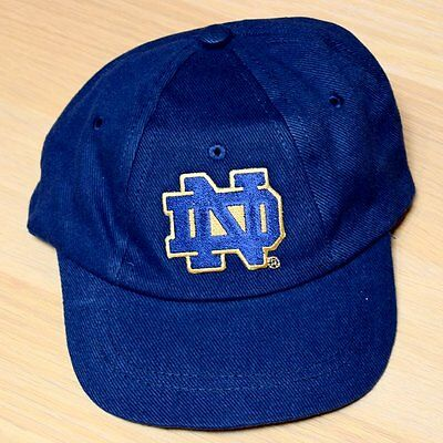 Notre Dame Fighting Irish Baby Infant Cap Hat (FREE SHIPPING) Size: 0-6 months