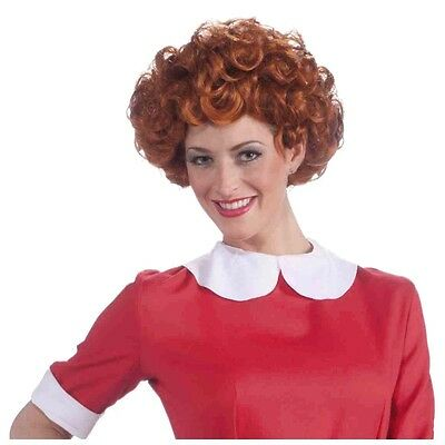 Annie Wig Costume Accessory Adult Halloween