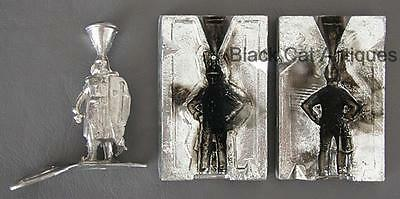 Hobbyist Lead Soldier Mold with One Lead Knight Figure for Melt Practice Lot #2