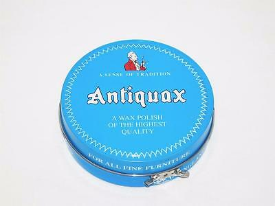 ANTIQUAX Wood Furniture Wax Polish 250mL Antique and Fine Wood Made in ENGLAND