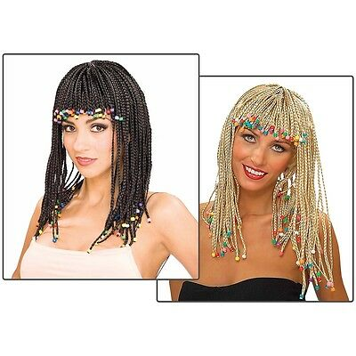 Corn Row Wig Costume Accessory Adult Halloween