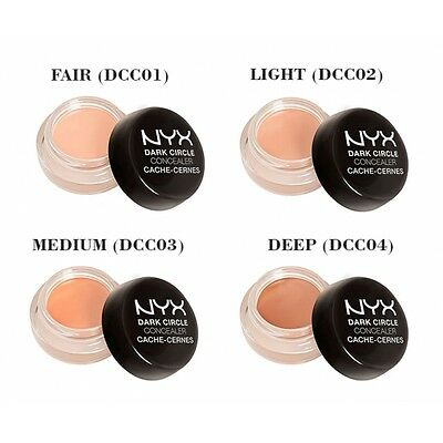 NYX Dark Circle Concealer 0.1oz/2.9g Fair / Light / Medium- CHOOSE YOUR COLOR