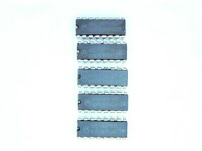 "MC14076B  ""Original"" Motorola  16P DIP CMOS IC  5  pcs"
