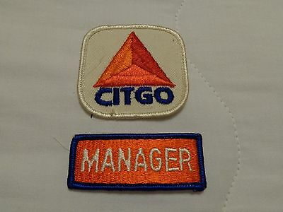 Vintage  Patches    Gas Station     (Citgo)