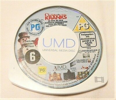 "Christmas With The Cranks Psp Umd ""disk Only"" Auz Seller"