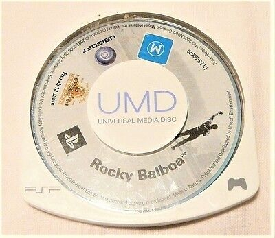 "Rocky Balboa Psp Umd ""movie Disk Only"" Auz Seller"