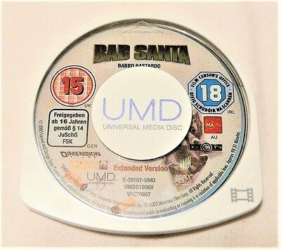 "Bad Santa Psp Umd ""movie Disk Only"" Auz Seller"