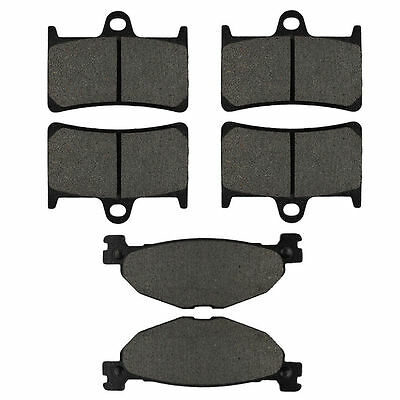 Brake Pads Front & Rear Kit for Yamaha TDM900 FJR1300 XV1700 XV1900 Road Star
