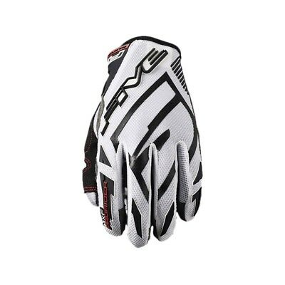 Five Mxf Prorider White Black Motocross Mx Gloves