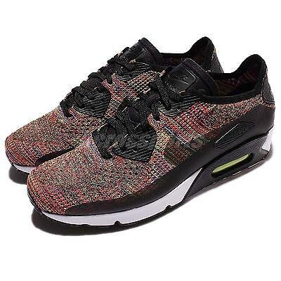 new style 3d28c 2587f Nike Air Max 90 Ultra 2.0 Flyknit Multi-Color Rainbow Men Running 875943-002
