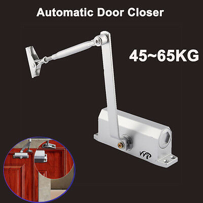 45-65KG Automatic Fire Rated Adjustable Home Door Closer Suits Inward Outward AU