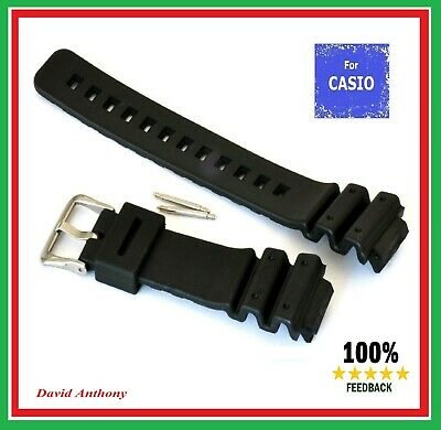 Fits CASIO G SHOCK WATCH. 16MM / 25MM Quality PU Rubber Strap DW6900/6600 GW6900