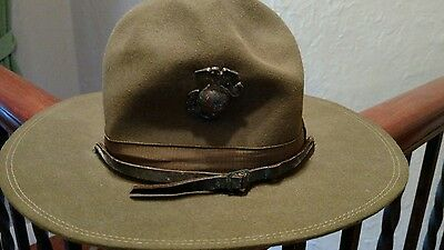 Unique WW1 Period USMC Cover Hat World War 1 Great War
