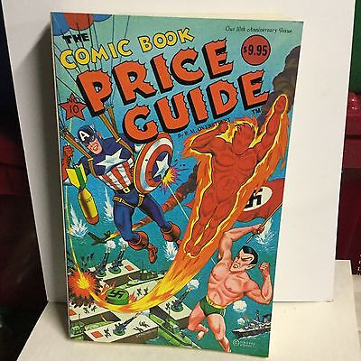 Comic book rare vintage Overstreet price guide 10th issue
