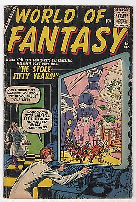 World of Fantasy #15  (Atlas Comics)  VG-