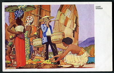 KENNETH SHOESMITH art. EAST INDIES. Fruit Sellers. Royal Mail Lines cruise 1935