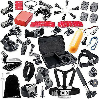 44 in 1 Bundle Accessories Kit For GoPro Hd Hero 4 Session Hero 5/4/3+/3/2/1 NEW