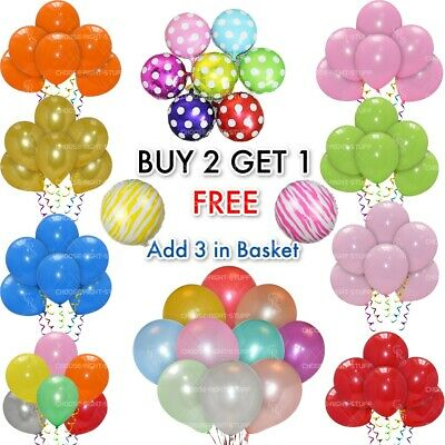 20 X Latex PLAIN BALOONS BALLONS helium BALLOONS Quality Party Birthday Wedding