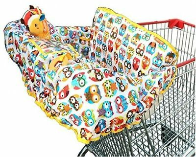 Crocnfrog Croc n Frog 2-in-1 Shopping Cart and High Chair Cover For Baby