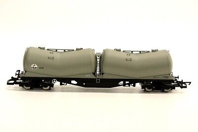 Hornby R6313 PDA Depressed Centre Wagon Tanker Rolling Stock OO Gauge H2
