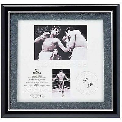 Lionel Rose  The Boxers  Signed Limited Edition Print