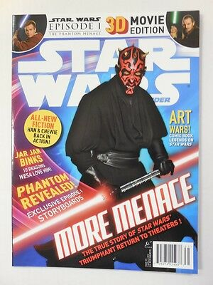 DARTH MAUL Ray Park Photo Cover! Star Wars Insider # 131 Magazine