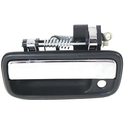 Exterior Door Handle For 95-2004 Toyota Tacoma Front, Driver Side Chrome Plastic