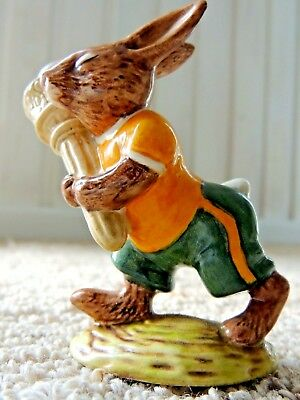 Royal Doulton Bunnykins Figurine - 'olympic' Bunny - Rare & Very Collectable !
