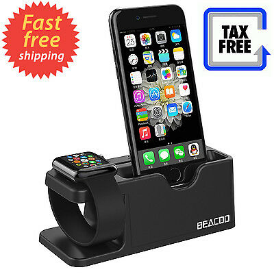 Watch Stand Charging Dock iWatch Cradle Holder iPhone Station 38mm 42mm New
