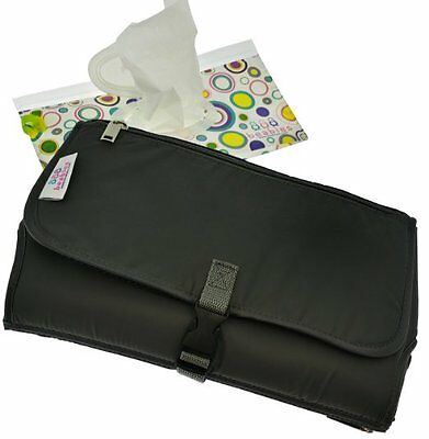 Portable Beabies Travel Diaper Changing Pad w/Wipes Dispenser Changes On The Go