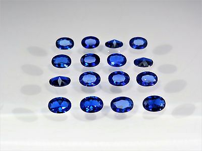 Blue Spinel Oval Cut Shape SIZE CHOICE Stones Loose Gemstones